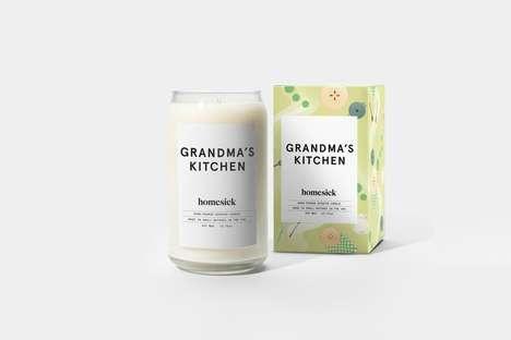 Nostalgic Kitchen-Scented Candles