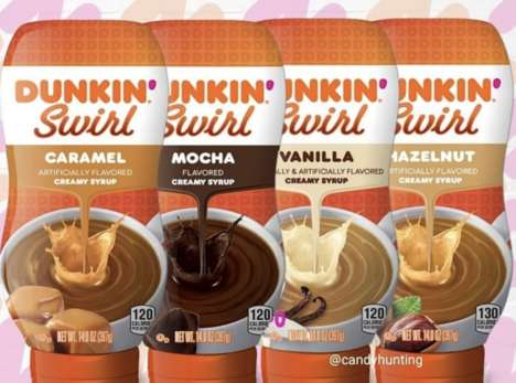 Fast Food Coffee Syrups