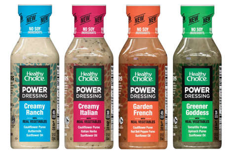 Puree-Infused Salad Dressings