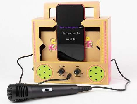 Smartphone-Powered Karaoke Kits