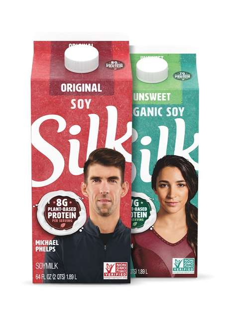 Olympian-Approved Soy Beverages
