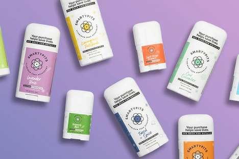 Prebiotic Natural Deodorants