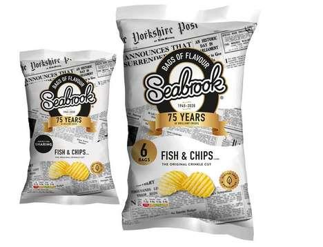 British Fare-Inspired Snacks