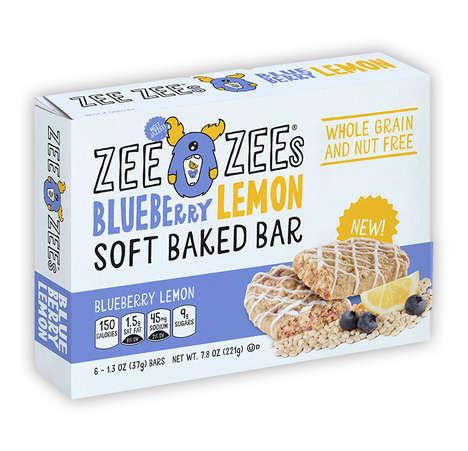 Soft Baked Blueberry Bars