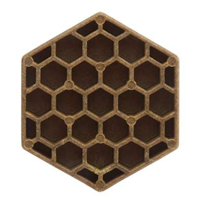 Honeycomb-Shaped Dog Chews