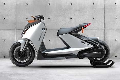 Angular Eco Scooter Designs