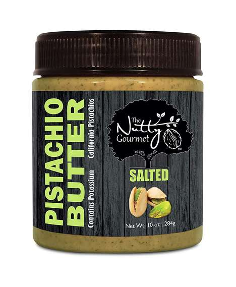 Pistachio-Based Nut Butters