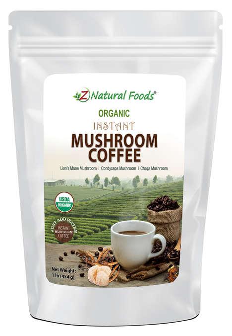 Instant Mushroom Coffees