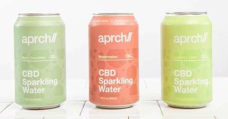 Zero-Sugar CBD Sparkling Water
