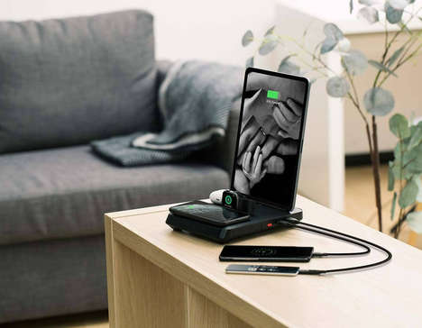 Clutter-Reducing Charging Stations
