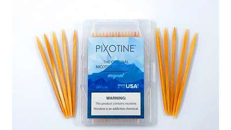 Nicotine-Infused Toothpicks