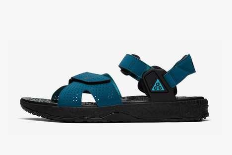 90s-Inspired Velcro Sandals