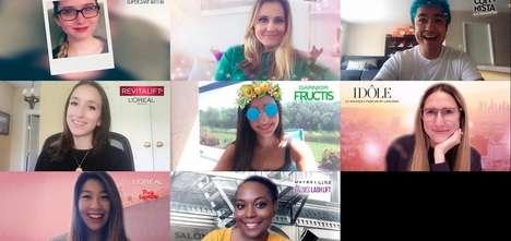 Inaugural AR Cosmetic Lenses