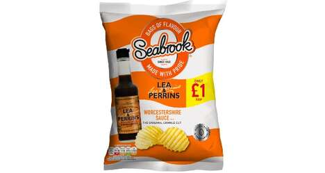 Worcestershire Sauce Snack Chips