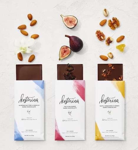 Olive Oil-Infused Chocolates