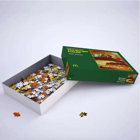 Branded Fast Food Puzzles