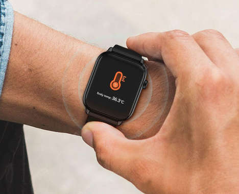 Temperature-Tracking Watches