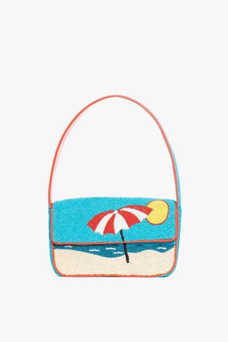 Beaded Beach-Inspired Handbags