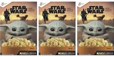Sci-Fi Character Cereals
