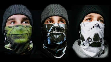 Sci-Fi Franchise Face Masks