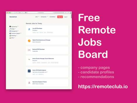 Remote Opportunity Job Boards