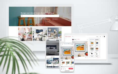 AI-Integrated Design Websites