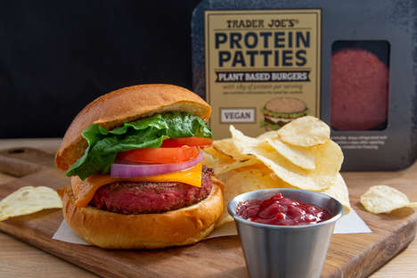Quarter-Pound Plant-Based Patties