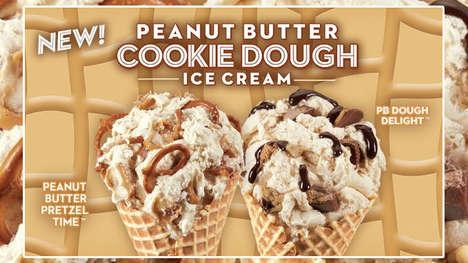 Peanut Butter-Infused Ice Creams