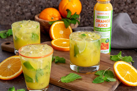 Organic Cold-Pressed Orange Juices