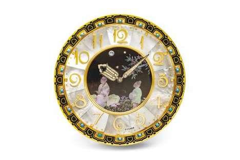 Rare Ultra-Luxe Clocks