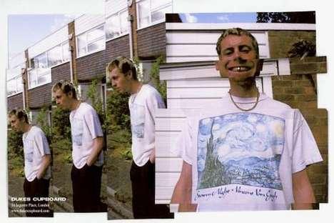90s-Themed Artful Streetwear