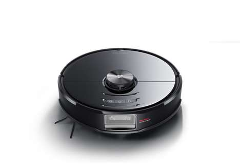 AI-Powered Twin Camera Vacuums