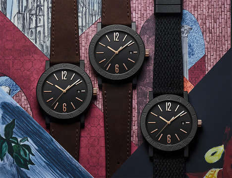 Cityscape-Inspired Timepieces