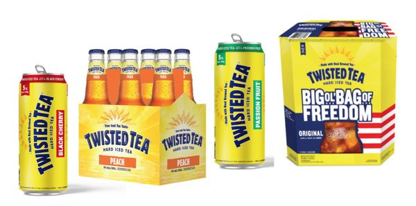 Spiked Passion Fruit Teas Twisted Tea Passion Fruit