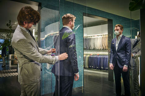 Distancing Suit Shops