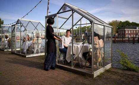 Isolated Dining Booths