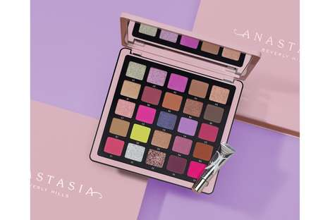 Professional-Grade Pigmented Eyeshadow Palettes