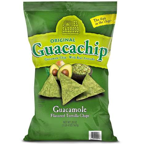 Guacamole-Flavored Tortilla Chips