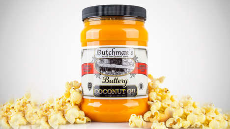 Buttery Vegan-Friendly Popcorn Oils