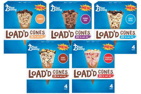 Treat-Filled Frozen Cones