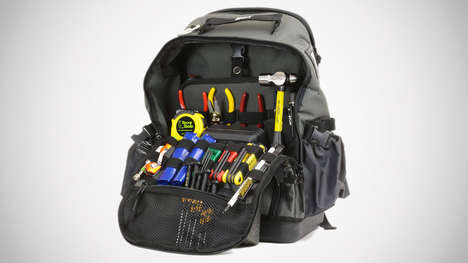 DIYer Tool-Filled Backpacks