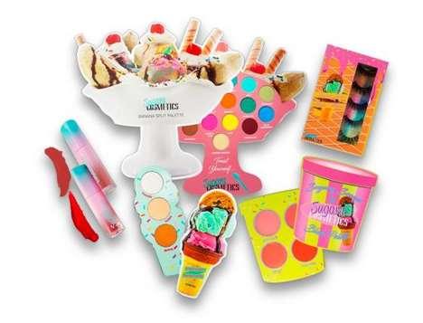 Ice Cream-Inspired Makeups