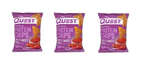 Sweet Heat Protein Chips