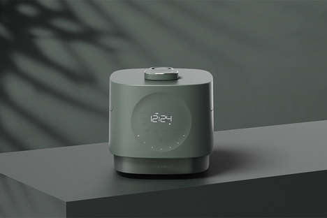 Clock-Equipped Rice Cookers
