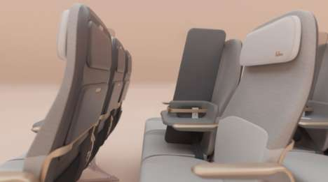 Middle Seat-Replacing Sneeze Guards