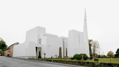 Modern Porcelain Churches