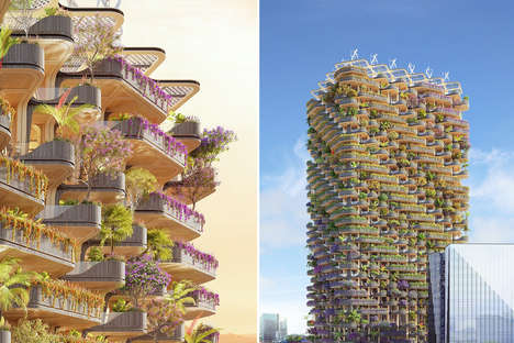Lush Greenery Residential Towers