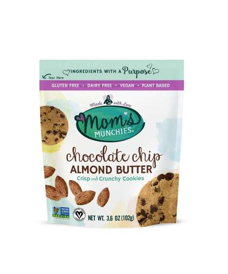 Plant-Based Almond Butter Cookies