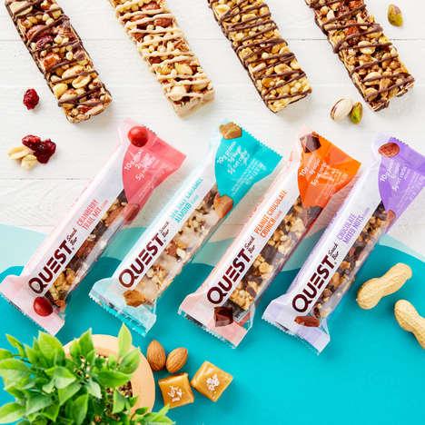Crunchy Low-Sugar Bars