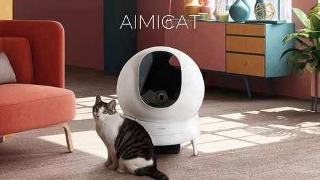 Advanced Hygienic Litter Boxes